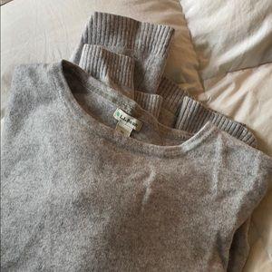 L L Bean cashmere sweater